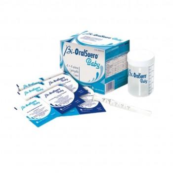 Bi-OralSuero Baby 4+4 Sobres 1 Jeringuilla 1 Vaso