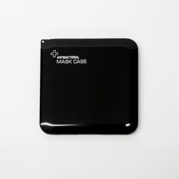 Porta Mascarilla Antibacteriana Negra.
