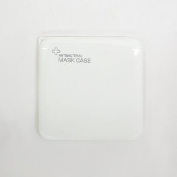 Porta Mascarilla Antibacteriana Blanca.