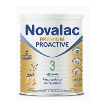 Novalac Premium Proactive 3 Preparado Lácteo de Crecimiento +12 Meses 800 Gramos