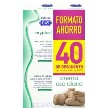 Lutsine Eryplast Pasta al Agua Duplo 2x75g 40% Descuento en la 2ª Unidad