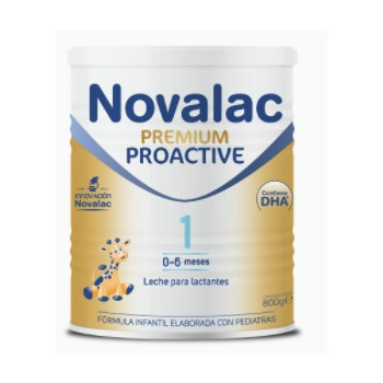 Novalac Premium Proactive 1 Leche Para Lactantes 0-6 Meses 800 Gramos