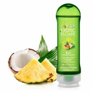 Control Exotic Escape 2 en 1 Masaje y Placer 200ml