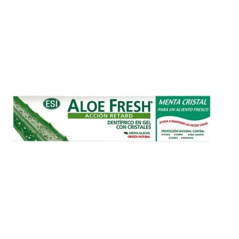 Aloe Fresh Dentrífico Retard Gel Menta cristal 100 ml