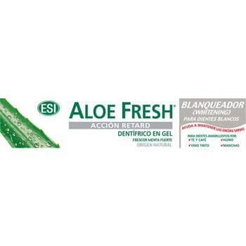 Aloe Fresh Dentífico Retard Gel Blanqueador 100 ml