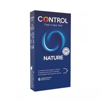 Control Preservativos Nature 6 Unidades