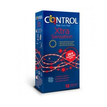 Control preservativos xtra sensation 12 unidades