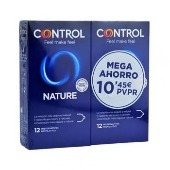 Control Preservativos Nature Pack 12+12 Unidades