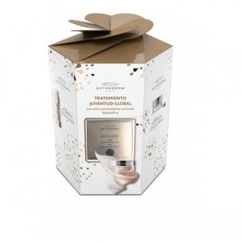 Esthederm Pack Navidad Tratamiento Juventud Global Excellage Crema + Serúm + Contorno de Ojos
