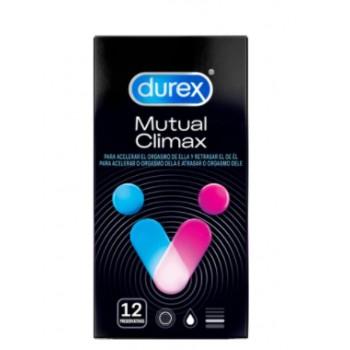 Durex preservativos Mutual Climax 12 unidades