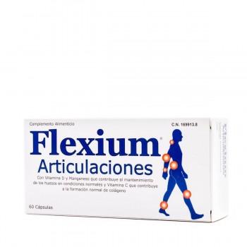 Flexium Articulaciones Complemento Alimenticio 60 Cápsulas