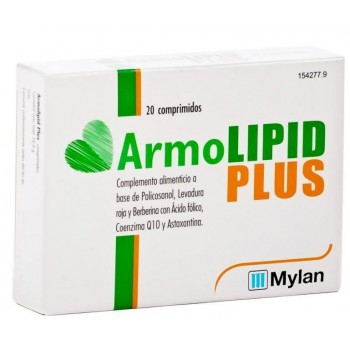 Armolipid Plus Complemento Alimenticio 20 Comprimidos
