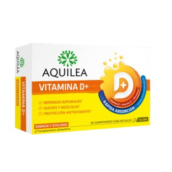 Aquilea Vitamina D+ Rápida Absorción 30 Comprimidos Sublinguales
