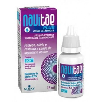 Navitae Plus Gotas Oftálmicas Antioxidante y Lubricante 15ml