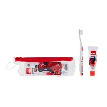 Cepillo dental Phb Plus 6 a 9 años junior neceser