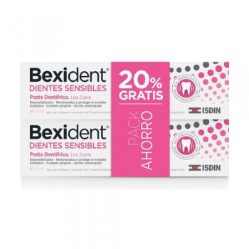 Bexident Dientes Sensibles Pasta Dentífrica Pack 2x75ml