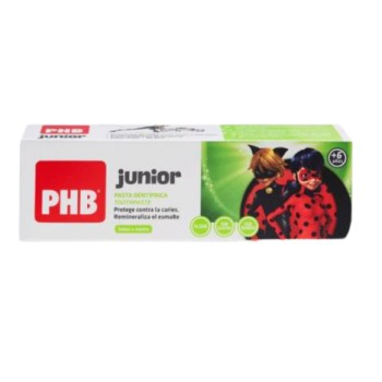 PHB Dentrífico Junior Sabor Menta 75 ml