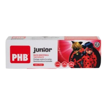 PHB Junior Pasta Dentífrica +6 Años Sabor Fresa 75ml