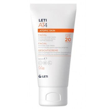 Leti AT4 Crema Facial SPF20 Piel Atópica 50 ml