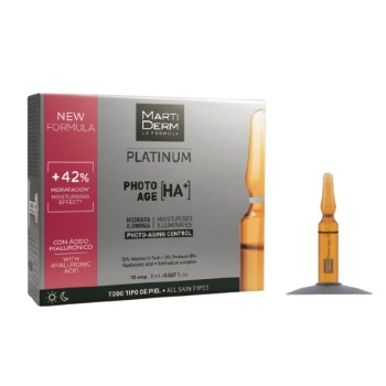 Martiderm Platinum Photo-Age Todo Tipo de Piel 10 Ampollas 2ml