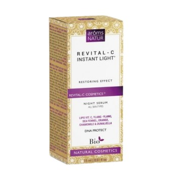 Revital-c instant light night serum