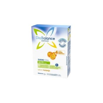 DiaBalance Expert Suero Oral Sabor Naranja 4 Sobres