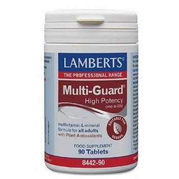 Lamberts Multi-Guard Multivitaminas y Minerales Apto para Veganos 90 Comprimidos