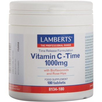 Lamberts Vitamina C - Time 1000mg 180 Comprimidos
