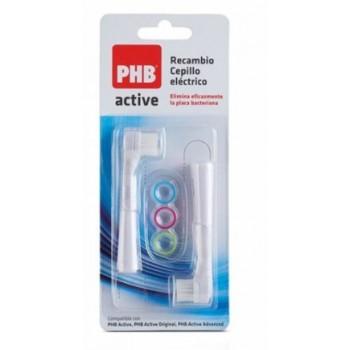 PHB Active Recambio Cepillo Eléctrico 2 Unidades