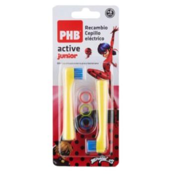 PHB Active Junior Recambio Cepillo Eléctrico 2 Unidades