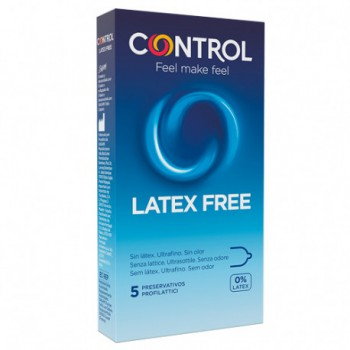 Control preservativo Latex Free 5 unidades