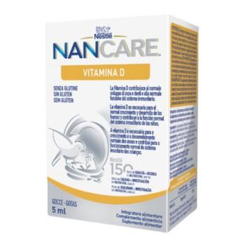 NanCare Vitamina D Sin Gluten Gotas 5ml