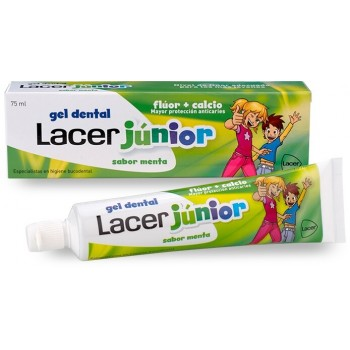 Lacer Junior Gel Dental +6 Años Sabor Menta 75ml