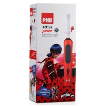 PHB Active Junior Cepillo Eléctrico Rojo +6 Años Lady Bug