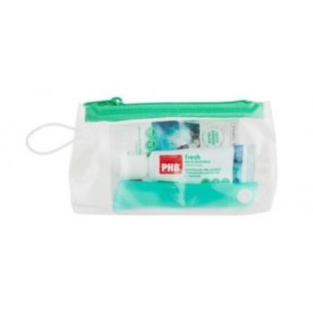 PHB Kit De Viaje Fresh Cepillo Dental plegable + Pasta 15 ml