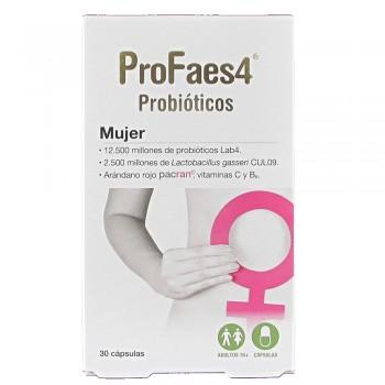 ProFaes4 Cepas Bacterianas Mujer 30 Cápsulas