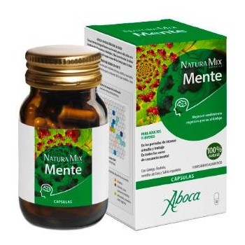 Aboca Natura Mix Advanced Mente 50 Cápsulas