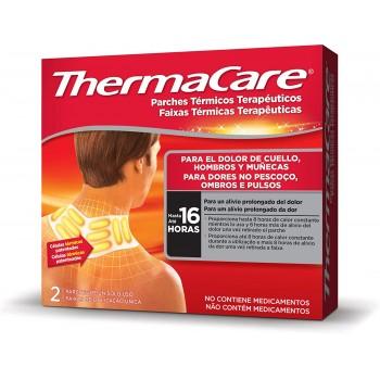 Thermacare Parches Térmicos Terapéuticos para el Dolor de Cuello Hombros y Muñecas Hasta 16 Horas 2 Parches