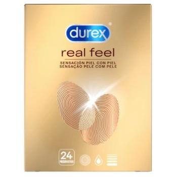 Durex Preservativos Real Feel Sin Látex 24 Unidades