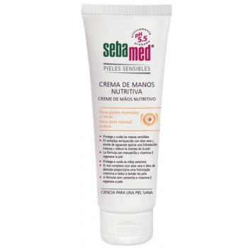 SebaMed Crema de Manos Nutritiva Piel Normal a Seca 75ml