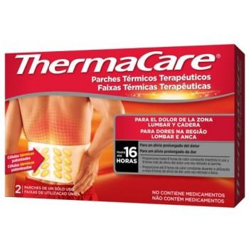 Thermacare Parches Térmicos Terapeúticos para el Dolor Lumbar y Cadera Hasta 16 Horas 2 Parches