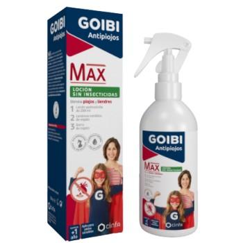 Goibi Antipiojos Max Loción Sin Insecticidas +1 Año 200ml