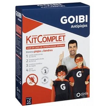 Goibi Antipiojos Kit Completo en Caso de Infestación Severa +2 Años