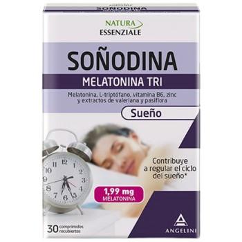 Soñodina Melatonina 1,99mg Tri Sueño 30 Comprimidos Recubiertos