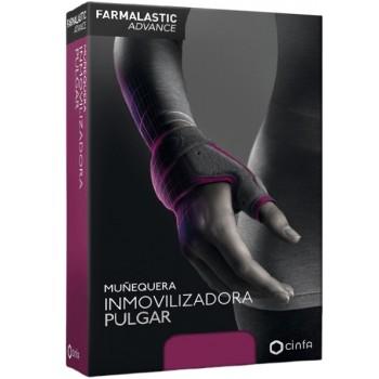 Farmalastic Advance Muñequera Inmovilizadora Pulgar Color Gris Talla 1