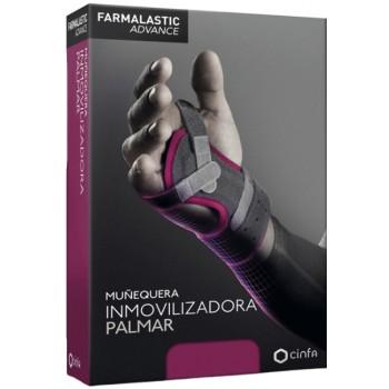 Farmalastic Advance Muñequera Inmovilizadora Palmar Color Gris Talla 2
