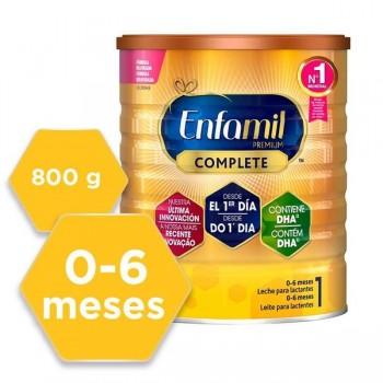Enfamil 1 Premium Complete 0-6 Meses Leche Para Lactantes 800gr