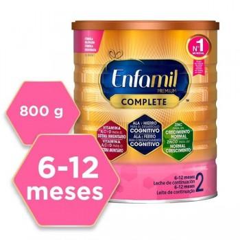 Enfamil 2 Premium Complete 6-12 Meses Leche de Continuación 800gr