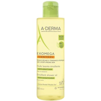 A-Derma Exomega Control Aceite Limpiador Emoliente 500 ml