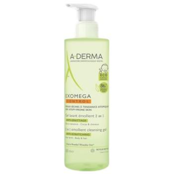 A-Derma Exomega Control Gel Limpiador 2 en 1 Cuerpo y Cabello 500 ml